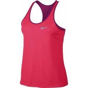 Nike NK BRTHE RAPID TANK W růžová XL - Dámské tílko