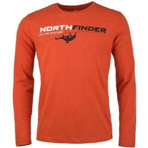 Northfinder RONTY oranžová XXL - Pánské triko