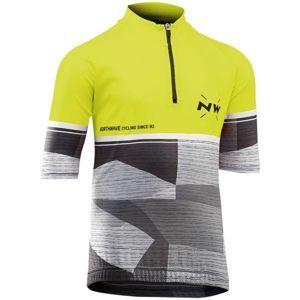 Northwave ORIGIN JR žlutá 10 - Dětský cyklo dres