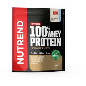 Nutrend 100% WHEY PROTEIN 1000 g BÍLÁ ČOKOLÁDA-KOKOS   - Protein