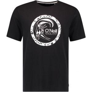 O'Neill LM CIRCLE SURFER T-SHIRT černá L - Pánské tričko