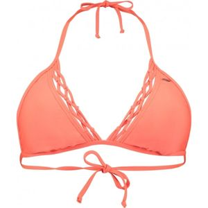 O'Neill PW PRINT TRIANGLE BIKINI TOP oranžová 34 - Vrchní díl plavek