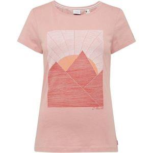 O'Neill LW ARIA T-SHIRT růžová S - Dámské tričko