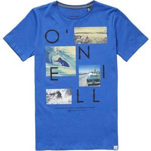 O'Neill LB NEOS S/SLV T-SHIRT modrá 128 - Chlapecké tričko