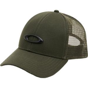 Oakley TRUCKER ELLIPSE HAT tmavě zelená UNI - Kšiltovka