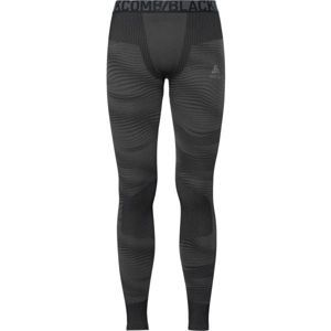 Odlo SUW MEN'S BOTTOM PERFORMANCE BLACKCOMB tmavě šedá S - Pánské funkční spodní kalhoty