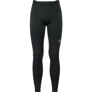 Odlo BL BOTTOM LONG PERFORMANCE WARM černá XL - Pánské funkční kalhoty