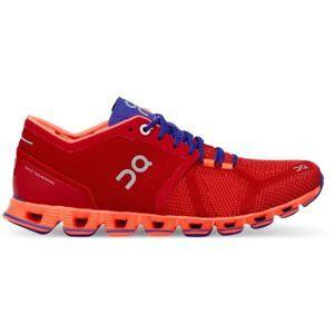 ON CLOUD X W červená 6.5 - Dámská běžecká obuv