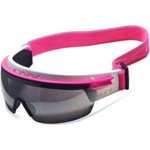 One Way SNOWBIRD MAG růžová NS - Brýle na běžky