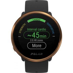 POLAR IGNITE hnědá M/L - Multisportovní hodinky s GPS a záznamem tepové frekvence