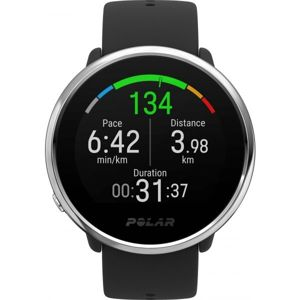 POLAR IGNITE černá M/L - Multisportovní hodinky s GPS a záznamem tepové frekvence