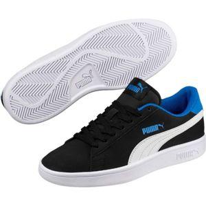 Puma SMASH V2 BUCK JR černá 5.5 - Dětské volnočasové boty