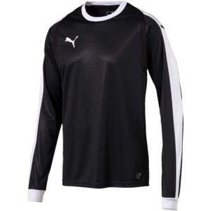 Puma LIGA GK JERSEY černá XXL - Pánský brankářský dres