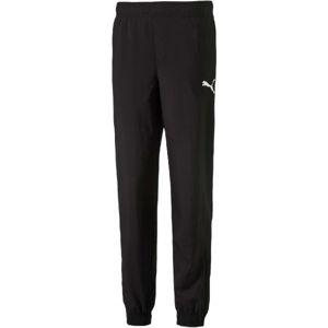 Puma ESS NO.1 WOVEN PANTS černá 152 - Dětské kalhoty