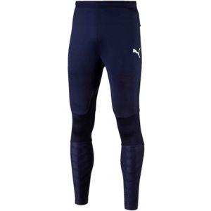 Puma FINAL TRAINING PANTS PRO modrá S - Pánské tréninkové kalhoty