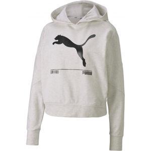 Puma NU-TILITY HOODY bílá L - Dámská mikina