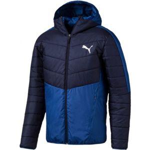 Puma WARMCELL PADDED JACKET modrá S - Pánská zimní bunda