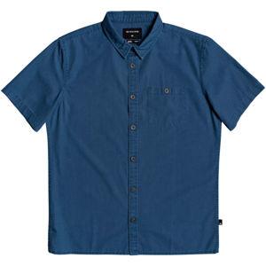 Quiksilver TAXER WASH SS SHIRT tmavě modrá L - Pánská košile