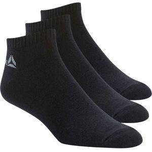 Reebok ACTIVE CORE INSIDE SOCK 3P černá 43-46 - Sportovní ponožky