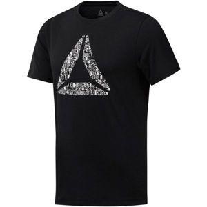 Reebok OPP černá 2xl - Pánské triko