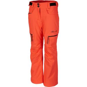 Rehall HARPER-R-JR-RED oranžová 116 - Dětské lyžařské kalhoty