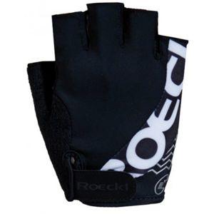 Roeckl BELLAVISTA černá 10 - Cyklistické rukavice