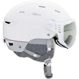 Rossignol ALLSPEED VIS IMPACTS W bílá (59 - 60) - Dámská lyžařská helma