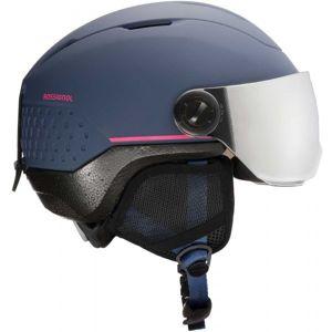 Rossignol WHOOPEE VISOR IMPACTS tmavě modrá (52 - 55) - Dětská lyžařská helma