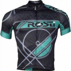 Rosti RUOTA DL ZIP černá 3xl - Pánský cyklistický dres