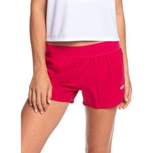 Roxy SUNNY TRACKS SHORT 2 červená L - Dámské šortky