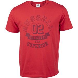 Russell Athletic SUPERIOR S/S TEE SHIRT  S - Pánské tričko
