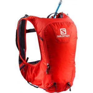 Salomon SKIN PRO 10 SET červená NS - Trail batoh