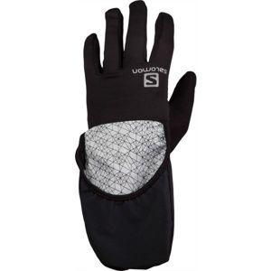 Salomon FAST WING WINTER GLOVE U B černá XL - Zimní rukavice