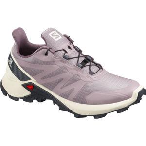 Salomon SUPERCROSS W fialová 6 - Dámská běžecká obuv