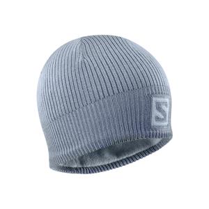 Salomon LOGO BEANIE ASHLEY šedá UNI - Zimní čepice