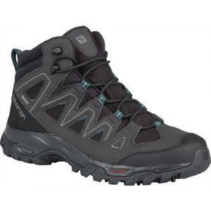 Salomon LYNGEN MID GTX černá 9.5 - Pánská hikingová obuv