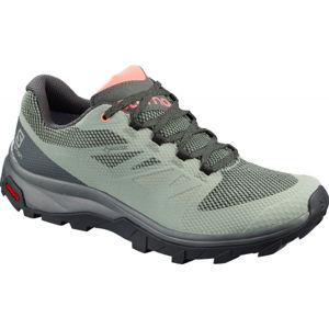 Salomon OUTLINE GTX W šedá 4.5 - Dámská obuv