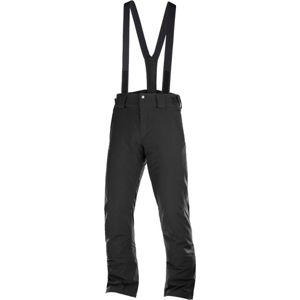 Salomon STORMSEASON černá 2XL - Pánské lyžařské kalhoty