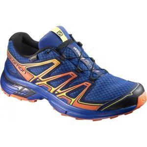 Salomon WINGS FLYTE 2 GTX modrá 9.5 - Pánská běžecká obuv