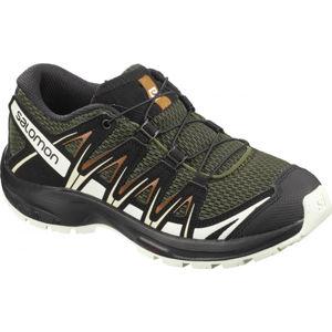 Salomon XA PRO 3D J tmavě zelená 36 - Dětské sportovní boty