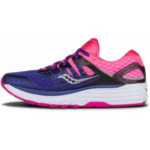Saucony TRIUMPH ISO 2 W fialová 10 - Dámská běžecká obuv