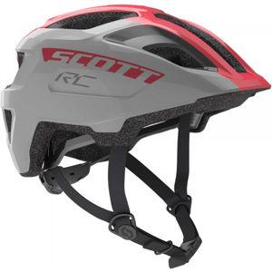 Scott SPUNTO JR šedá (50 - 56) - Dětská helma na kolo