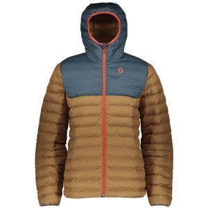 Scott INSULOFT 3M hnědá S - Pánská zimní bunda
