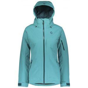 Scott ULTIMATE DRX W modrá L - Dámská zimní bunda
