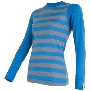 Sensor MERINO ACTIVE modrá XL - Dámské funkční triko