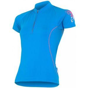 Sensor ENTRY W modrá M - Dámský cyklistický dres - Sensor