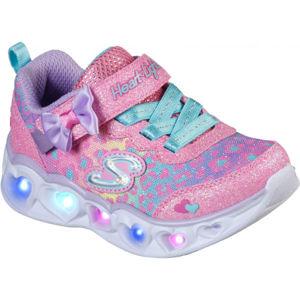 Skechers HEART LIGHTS  26 - Dětská volnočasová obuv