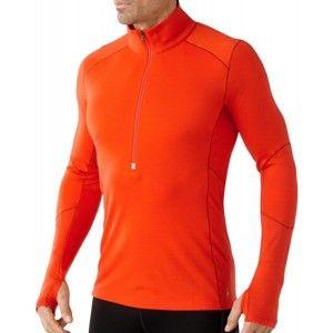 Smartwool MENS PHD LIGHT ZIP T oranžová XL - Pánské funkční tričko