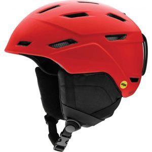 Smith MISSION MIPS červená (55 - 59) - Pánská lyžařská helma
