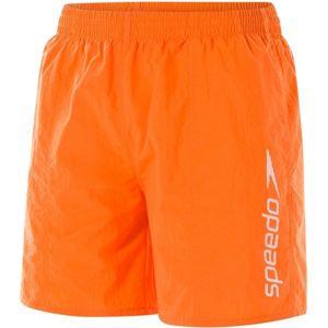 Speedo SCOPE 16 WATERSHORT oranžová XXL - Pánské plavecké šortky